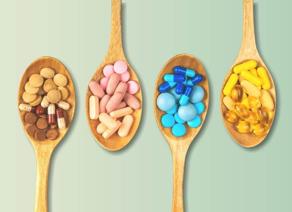 4 types of vitamin supplements